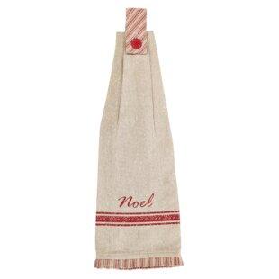 aragon 2 button loop cotton kitchen towel set of 2 - Kitchen Towel Sets