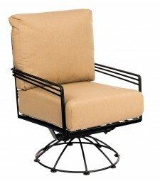 Woodard Madison Swivel Lounge Rocking Chair