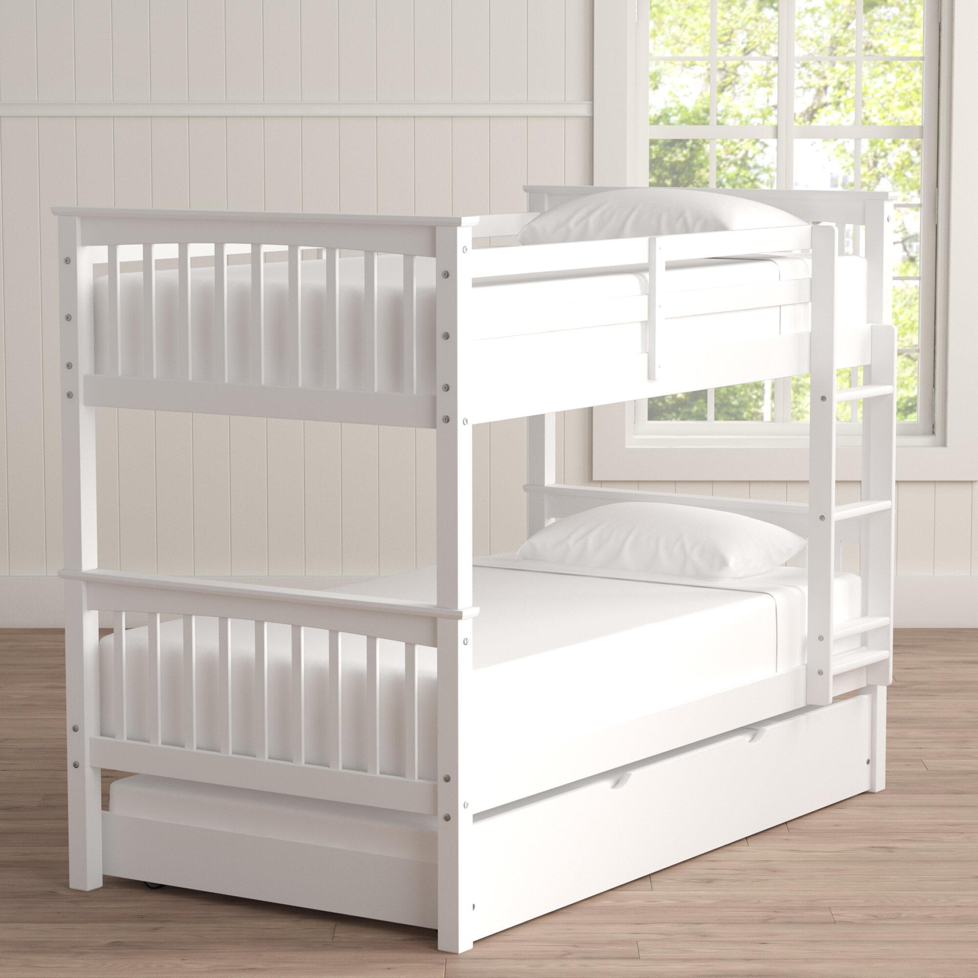 Esmeralda Twin Over Bunk Bed With Trundle