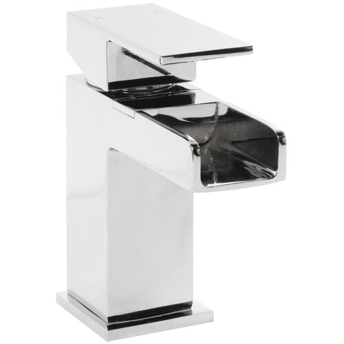 Ackerman Deck Mounted Waterfall Bath Tap and Shower Mixer Be