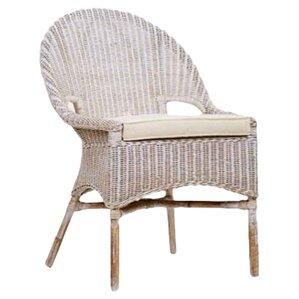 Daphne Rattan Accent Chair by Jeffan