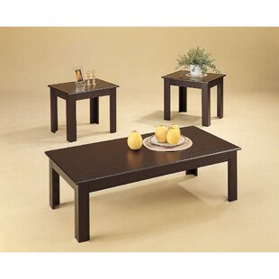 Winston Porter Laguerre Enchanting 3 Coffee Table Set