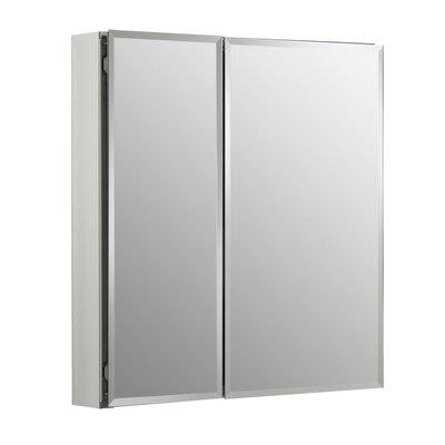 Surface Mount Frameless Doors Medicine Cabinet Adjustable Shelves