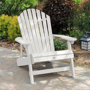 Anette Plastic Folding Adirondack Chair