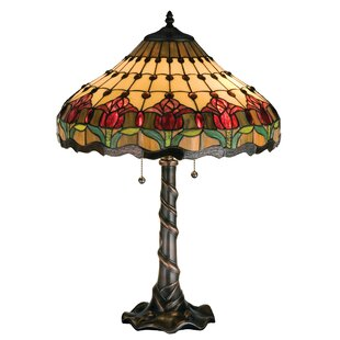 Colonial Tulip 25.5 Table Lamp