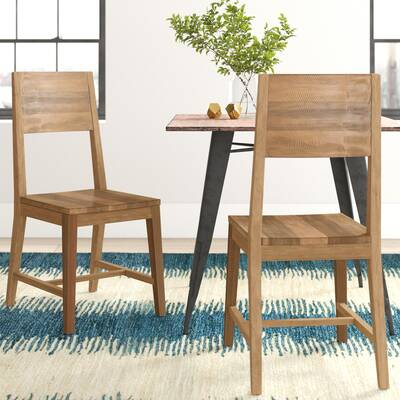 Mistana Abbey Extendable Solid Wood Dining Table Reviews Wayfair