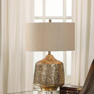 Leah Metallic 24 Table Lamp