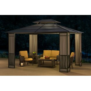Madison 12 Ft. W x 10 Ft. D Metal Patio Gazebo by Sunjoy