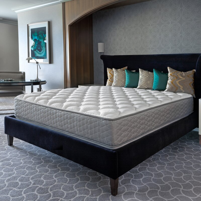 """Serta Two-Sided 12"""" Plush Tight Top Innerspring Mattress and Box Spring"""