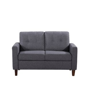 Molinari Tufted Loveseat by Wr..