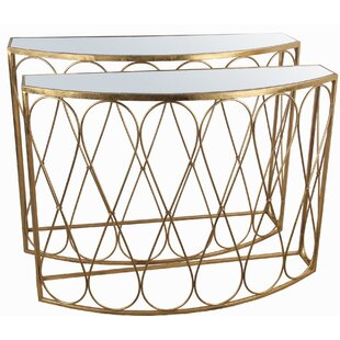 Humphery 2 Piece Console Table Set