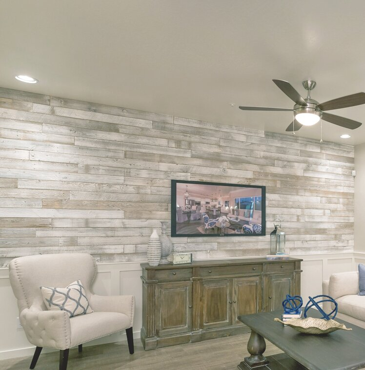Centennial Woods 5 Quot Solid Reclaimed Wood Wall Paneling In