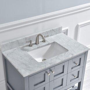 37 Single Bathroom Vanity Top By WoodBridge