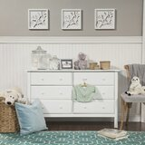 Jayden 6 Drawer Double Dresser by DaVinci