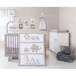 Inexpensive Trotman Animals Fitted Crib Sheet By Harriet Bee