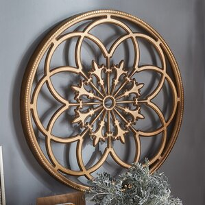 Wood Medallion Wall Decor wood wall accents you'll love | wayfair