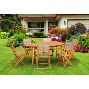 Allaire 6 Seater Dining Set By Sol 72 Outdoor