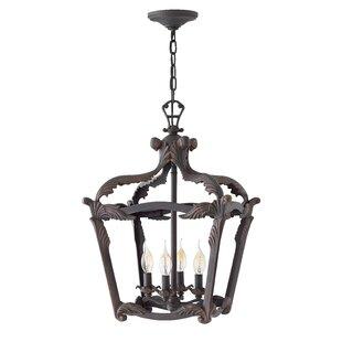 Astoria Grand Wayland 4-Light Lantern Pendant