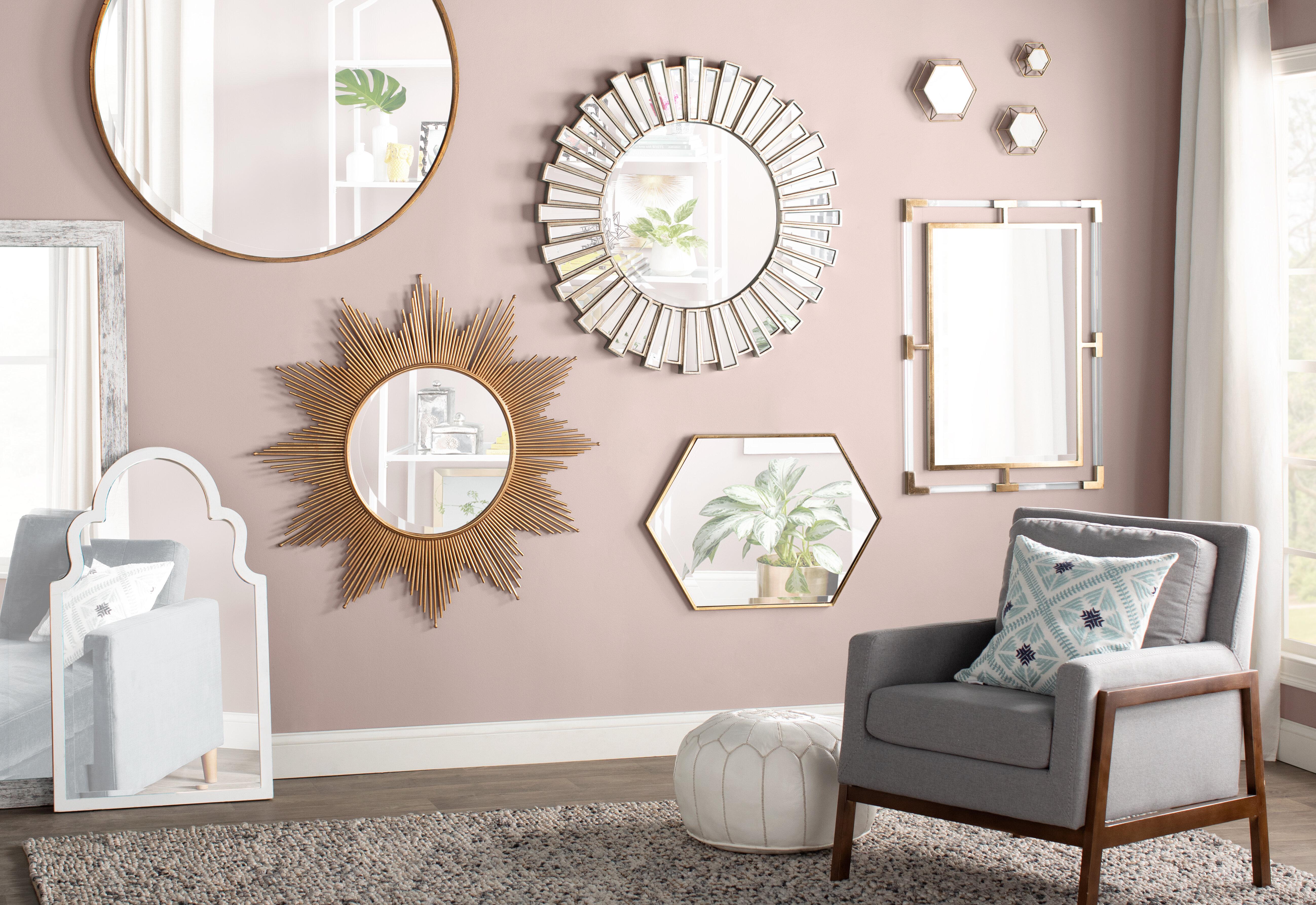 10 Dazzling Wall Mirror Decor Ideas (With Photos!) | Wayfair