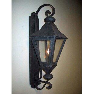 Grau 1-Light Outdoor Wall Lantern by Fleu..