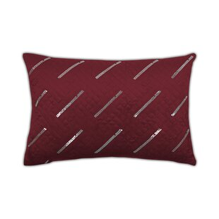 Fairfield Boudoir Sequins Velvet Lumbar Pillow