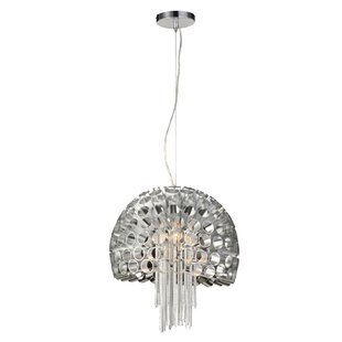 Mercer41 Raoul 1-Light Dome Pendant