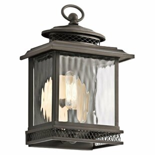 Breakwater Bay Rentas Outdoor Wall Lantern