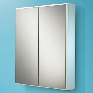 65cm X 70cm Surface Mount Mirror Cabinet By HIB