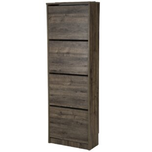 Burnie 12 Pair Shoe Storage Cabinet By Mercury Row