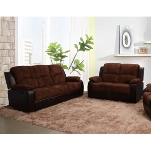 Beverly Fine Furniture Pamela Reclining 2 Piece Living Room Set