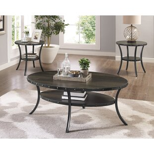 Inexpensive Haysi 3 Piece Coffee Table Set By Greyleigh