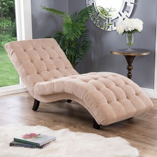 Willa Arlo Interiors Ethelinda Fabric Chaise Lounge