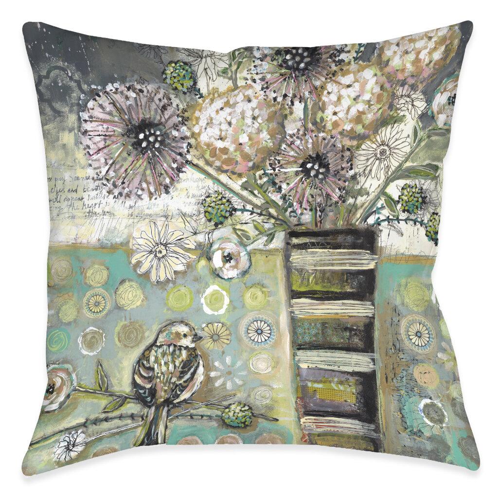 Bird Floral Throw Pillows You Ll Love In 2021 Wayfair