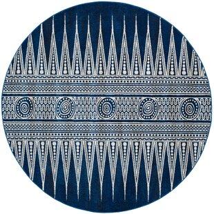 Elson Royal/Ivory Area Rug by Mistana