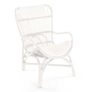 Deloris Rattan Armchair by Bayou Breeze