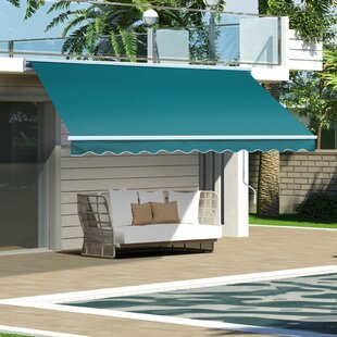 Sonakshi 3.5m W X 2.5m D Retractable Patio Awning By Sol 72 Outdoor