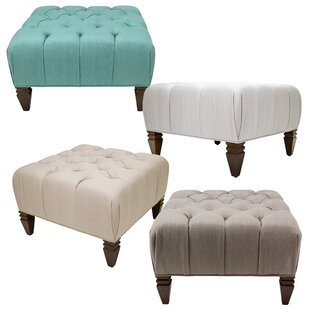 Holtby Tufted Cocktail Ottoman by Darby Home Co