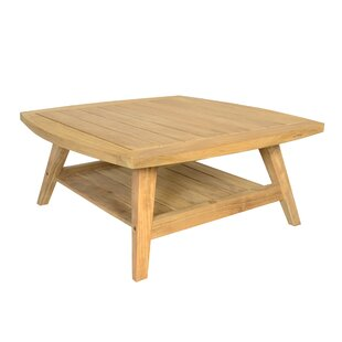 Azu Teak Coffee Table By Sol 72 Outdoor