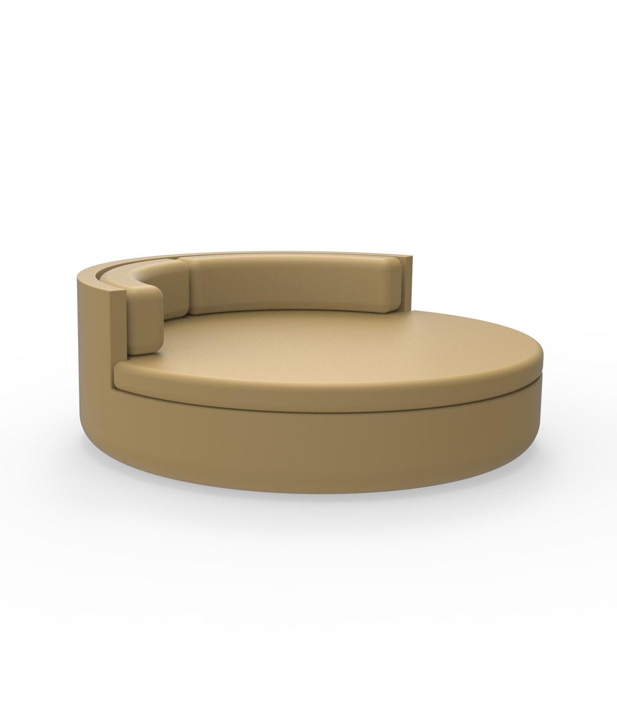 Vondom Ulm Patio Daybed With Cushions Perigold