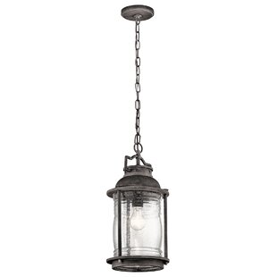 Bargain Galsworthy 1-Light Outdoor Hanging Lantern By Beachcrest Home