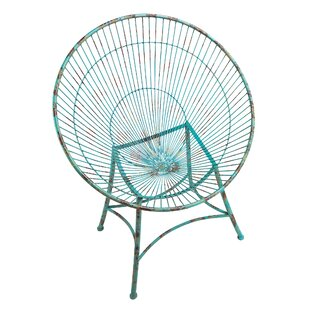 Saint-Tropez Sculptural Metal Hoop Garden Chair (Set of 2)