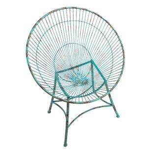 Saint-Tropez Sculptural Metal Hoop Garden Chair (Set of 2)