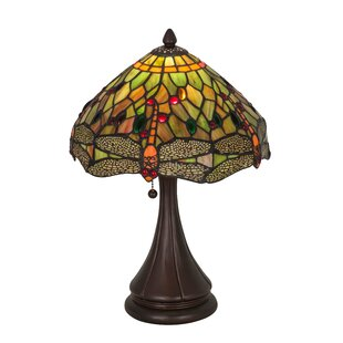 18 High Tiffany Hanginghead Dragonfly Table Lamp