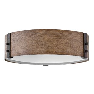 Hinkley Lighting Sawyer 3-Light Outdoor Flush Mount
