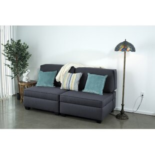 Latitude Run Anke Fabric Convertible Sofa (Set of 6)