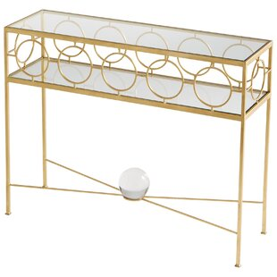 Auric Orbit Console Table by Cyan Design Discount