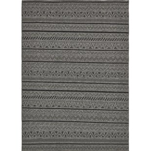 Lulu Yellow Pine Gray Indoor/Outdoor Area Rug