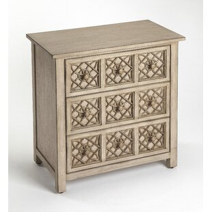 Bowie 3 Drawer Accent Chest by..