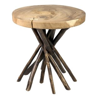 Erlandson End Table by Millwood Pines