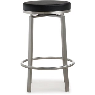 Mcrae Steel 26 Swivel Bar Stool by 17 Stories